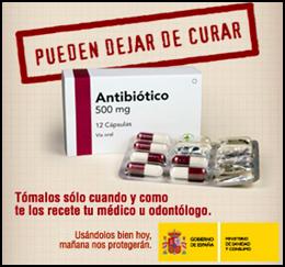 Antibioticos pueden dejar de curar